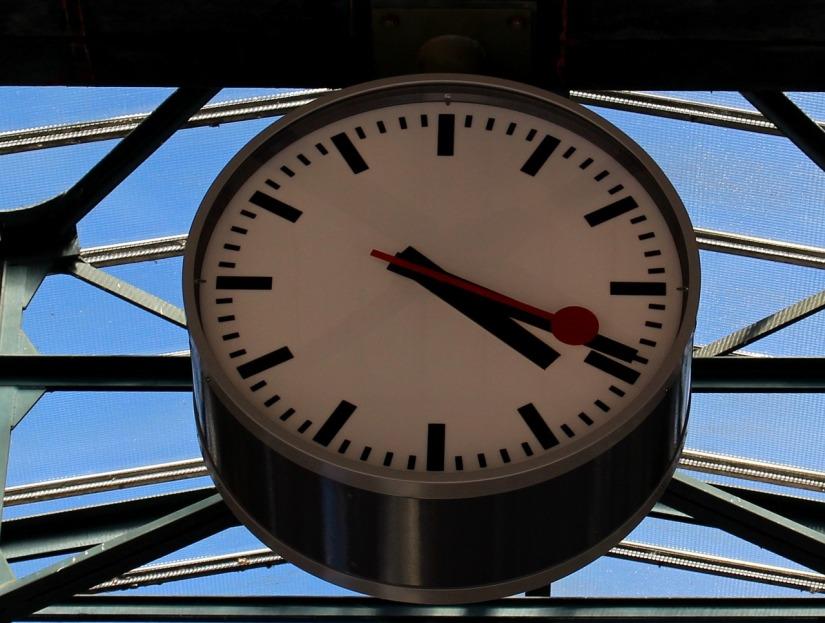 Die Bahnhofsuhr – ein zeitloserKlassiker