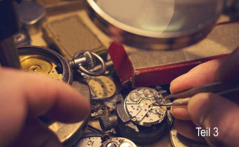 Alter von Taschenuhren bestimmen – Teil3